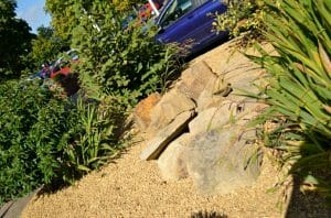 Stones4Homes Golden Gravel 20mm and Large Boulders