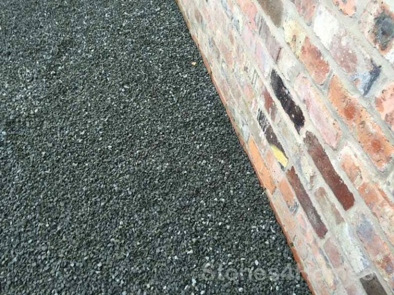 Stones4Homes Black Basalt 10mm on Permegrid PG40