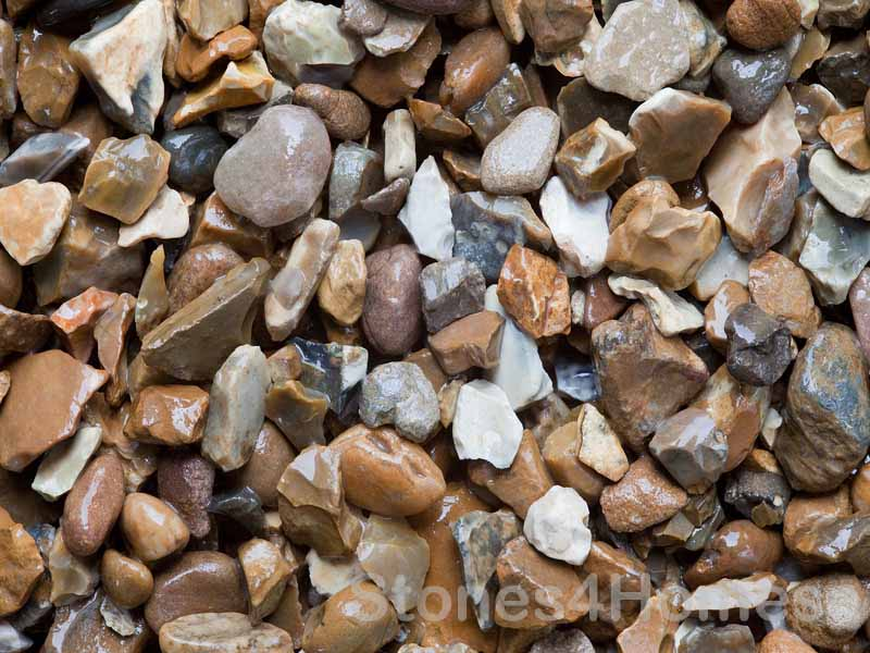Stones4Homes Golden Gravel 20mm - Wet