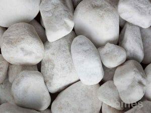 Stones4Homes Polar White Cobbles 40-90mm