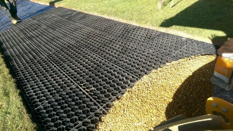 Stones4Homes Permegrid Installation at Scarthingwell Golf Course