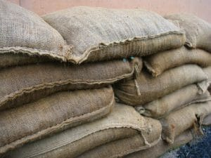 Stones4Homes Filled Hessian Sand Bags