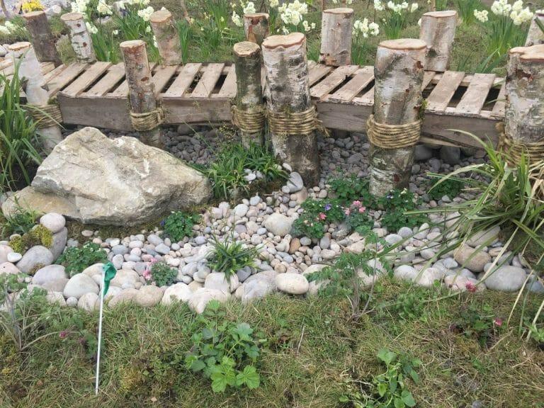 Stones4Homes Scottish Cobbles used with Scottish Pebbles