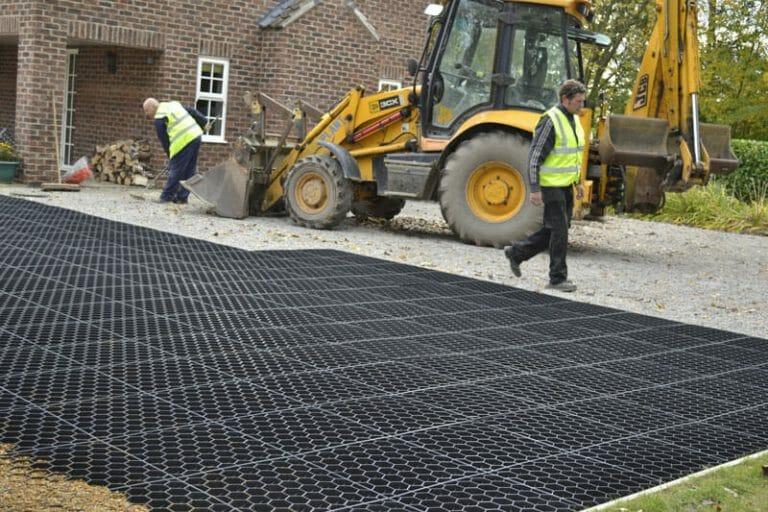 Stones4Homes Permegrid Grid Installation