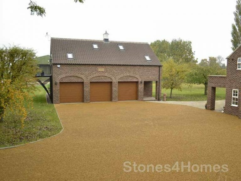 Stones4Homes Permegrid Driveway Grid with 10mm Golden Gravel