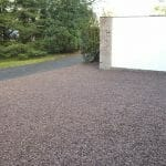 Stones4Homes Cheshire Pink 14mm on Permegrid Driveway Grid