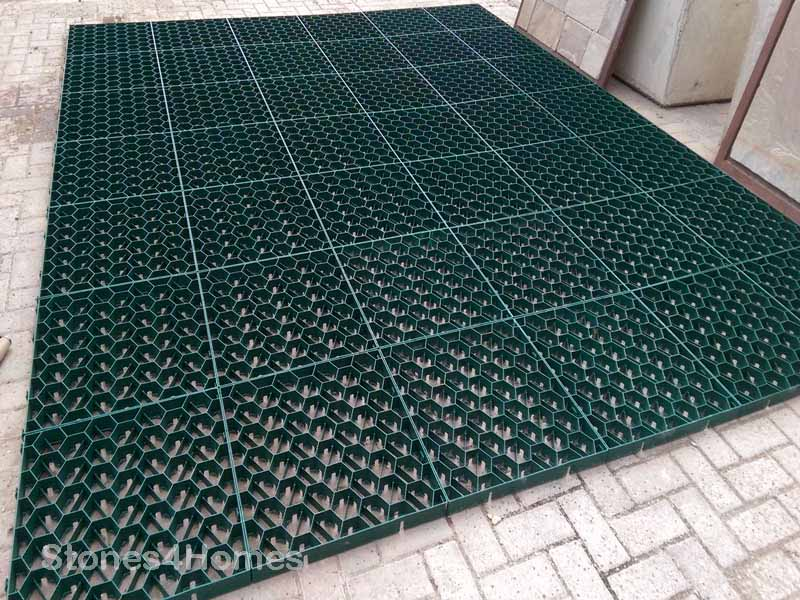 Stones4Homes Permegrid PG40 in Green for Grass