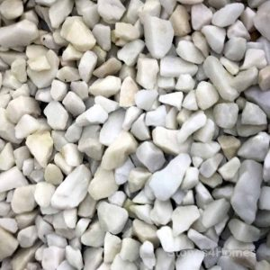 Stones4Homes Polar White Chippings 8-11mm