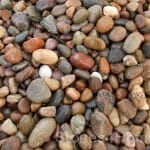 Stones4Homes 14-20mm Scottish Pebbles - wet