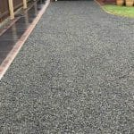 Stones4Homes 20mm Black Basalt (wet)- Photo courtesy of DG Landscapes and Paving