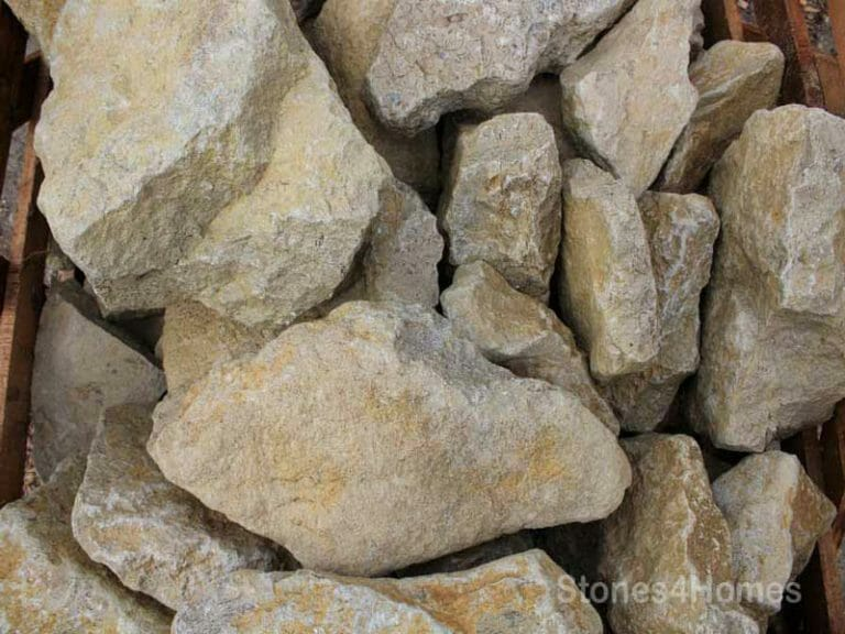 Stones4Homes - Cotswold Coloured Rockery Pieces