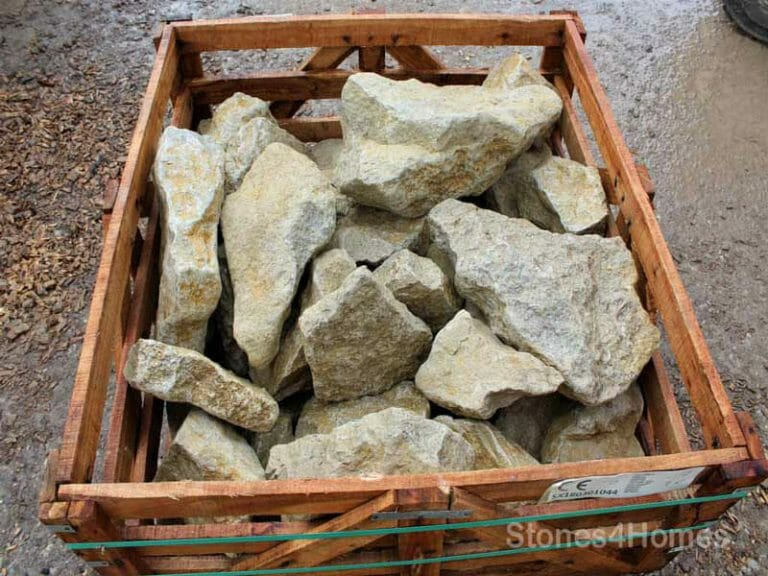 Stones4Homes - Crate of Cotswold Rockery