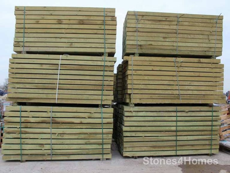Stones4Homes - Softwood Sleepers