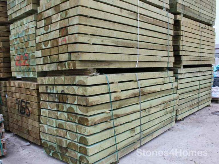 Stones4Homes - Soft Wood Sleepers